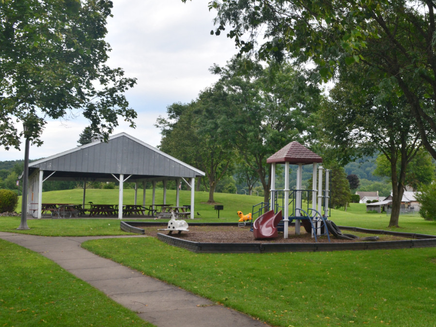 A park in the Village of Frankfort
