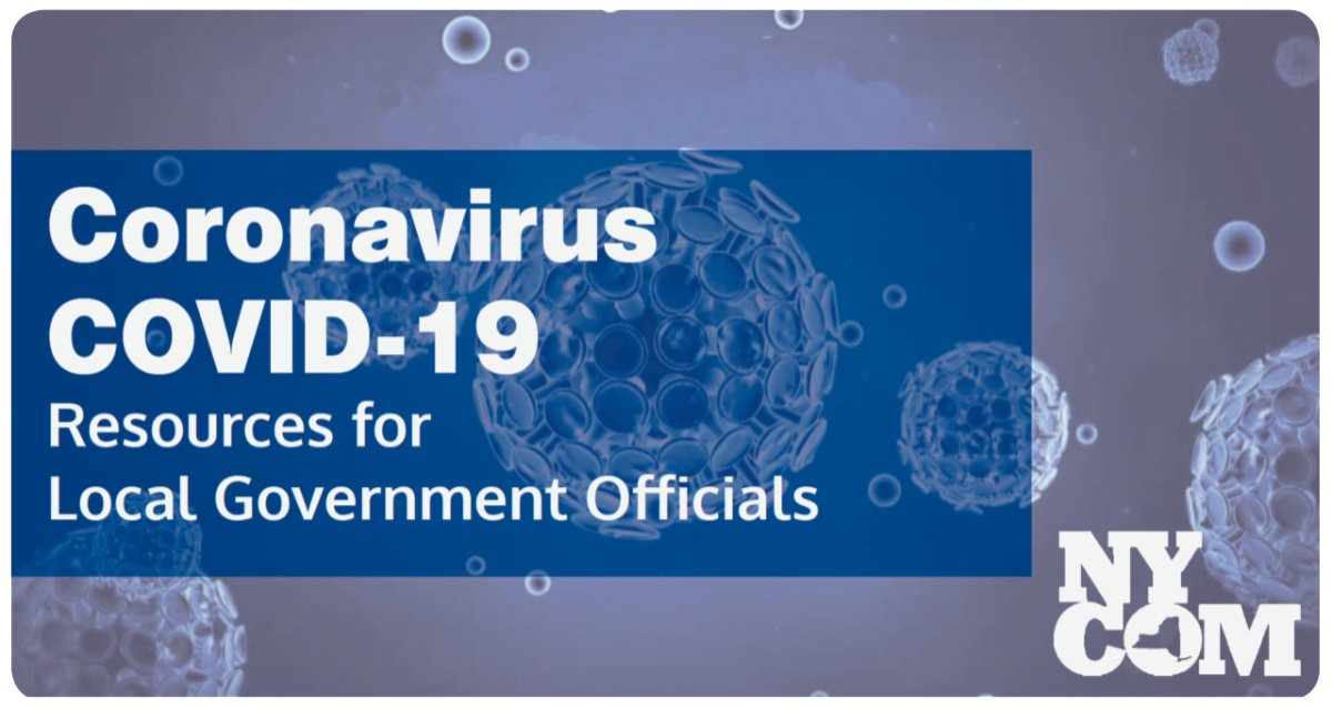Coronavirus COVID-19 Resources for Local Government Officials
